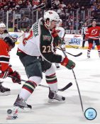 Cal Clutterbuck LIMITED STOCK Minnesota Wild 8x10 Photo