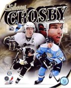 Sidney Crosby Portrait Plus Pittsburgh Penguins LIMITED STOCK 8x10 Photo