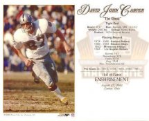 David Casper LIMITED STOCK Oakland Raiders 8X10 Photo