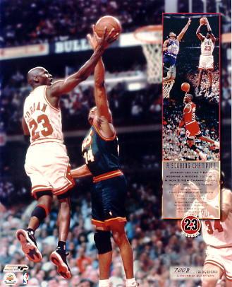 Michael Jordan Limited Edition 8X10 Photo