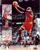 Michael Jordan Limited Edition Bulls 1998 NBA Champions 6th Title 8X10 Photo