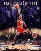 Michael Jordan Limited Edition 1995 vs New York Knicks 8X10 Photo
