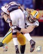 Clay Matthews 2010 NFC Championship Game Green Bay Packers 8X10 Photo
