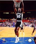 David Robinson 1990 San Antonio Spurs SATIN 8X10 Photo LIMITED STOCK