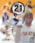 Roberto Clemente Pittsburgh Pirates SATIN 8X10 Photo  LIMITED STOCK