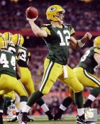 Aaron Rodgers Super Bowl 45 Green Bay Packers SATIN 8X10 Photo