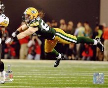 Clay Matthews Super Bowl 45 Green Bay Packers 8X10 Photo