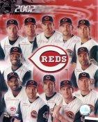 Barry Larkin, Ken Griffey Jr, Adam Dunn, Sean Casey 2002 Cincinnati Reds LIMITED STOCK 8x10 Photo