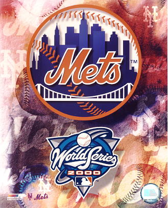 Mets 2000 New York Team Logo 8X10 Photo
