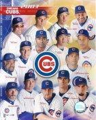 Dusty Baker, Sammy Sosa, Moises Alou, Mark Bellhorn LIMITED STOCK 2003 Chicago Cubs 8X10 Photo