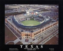 A1 The Ballpark in Arlington Aerial Texas Rangers 1st Night Game 8X10 Photo