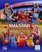 All-Star Match Up 2010-2011 NBA Los Angeles Staples Center 8X10 Photo LIMITED STOCK