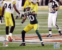 Donald Driver Super Bowl 45 Green Bay Packers LIMITED STOCK 8X10 Photo