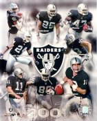 Tim Brown, Jerry Rice, Charlie Garner, Charles Woodson, Rich Gannon LIMITED STOCK 2001 Oakland Raiders 8X10 Photo
