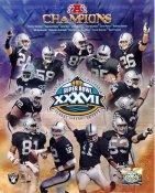 Raiders 2003 Oakland LIMITED STOCK Team 8X10 Photo