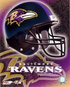 Ravens A1 Baltimore LIMITED STOCK Team Helmet Photo
