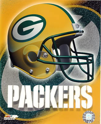 Packers A1 Green Bay LIMITED STOCK Team Helmet Photo