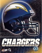 Chargers A1 San Diego LIMITED STOCK Team Helmet Photo