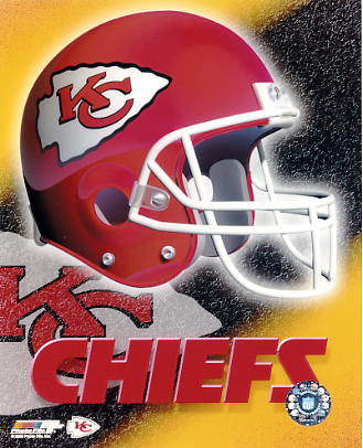 Chiefs A1 Kansas City LIMITED STOCK Team Helmet Photo