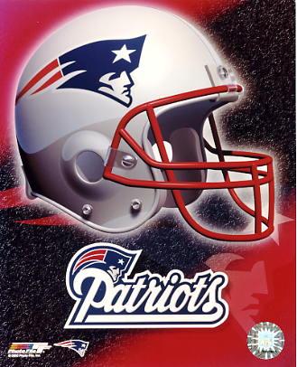 Patriots A1 New England LIMITED STOCK Team Helmet Photo