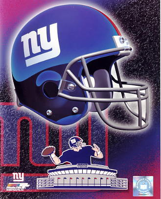 Giants A1 New York LIMITED STOCK Team Helmet Photo