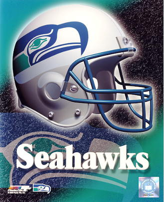 Seahawks A1 Seattle LIMITED STOCK Team Helmet Photo