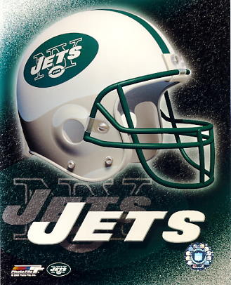 Jets  A1 New York LIMITED STOCK Team Helmet Photo