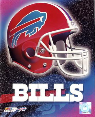 Bills A1 Buffalo LIMITED STOCK Team Helmet Photo