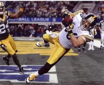 Hines Ward TD Super Bowl 45 Pittsburgh Steelers 8x10 Photo LIMITED STOCK