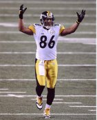 Hines Ward Super Bowl 45 Pittsburgh Steelers 8x10 Photo  LIMITED STOCK