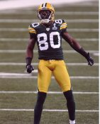 Donald Driver Super Bowl 45 Green Bay Packers 8X10 Photo