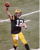 Aaron Rodgers Super Bowl 45 Green Bay Packers 8X10 Photo