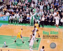 Ray Allen Most 3 Pointers in NBA History Boston Celtics 8X10 Photo LIMITED STOCK