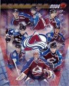 Colorado Avalanche 2003 Team LIMITED STOCK 8x10 Photo