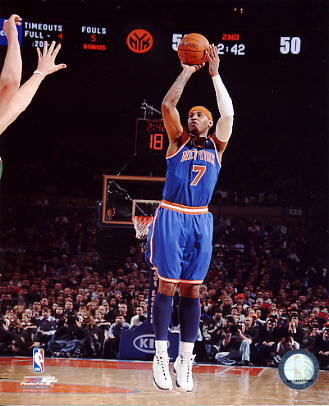 Carmelo Anthony LIMITED STOCK New York Knicks 8X10 Photo