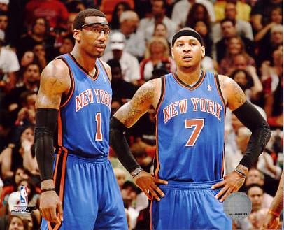 Carmelo Anthony & Amare Stoudemire New York Knicks 8X10 Photo LIMITED STOCK
