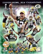 Packers 2011 Limited Edition Super Bowl 45 Green Bay 8X10 Photo -