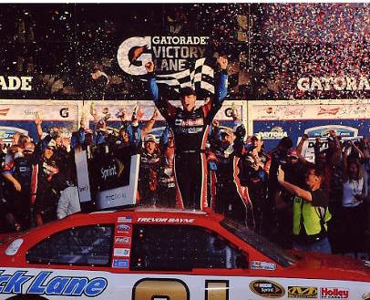 Trevor Bayne 2011 Daytona 500 Winner 8x10 Racing Photo