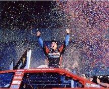 Trevor Bayne 2011 Daytona 500 Winner 8x10 Racing Photo