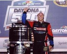 Trevor Bayne 2011 Daytona 500 Winner With Trophy 8x10 Racing Photo