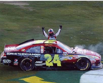 Jeff Gordon Subway 500 Winner 8x10 Photo