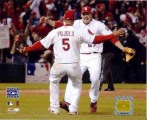 Albert Pujols & Scott Rolen LIMITED STOCK St. Louis Cardinals 8X10 Photos