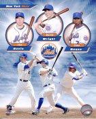 Jose Reyes, David Wright & Ike Davis New York Mets 8X10 Photo