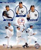 Mariano Rivera, Derek Jeter & Alex Rodriguez LIMITED STOCK New York Yankees 8X10 Photo