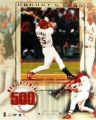 Mark McGwire 500 - 11X14 Numbered Limited Edition Of 2500 Cardinals 11X14