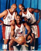 Charles Barkley, Hakim Olajuwon LIMITED STOCK 8X10 Photo