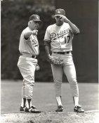 Tommy Lasorda Original Press Photo / Wire Photo 8x10 LA Dodgers