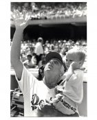Tommy Lasorda & Don Drysdale Jr Original Press Photo / Wire Photo 8x10 LA Dodgers
