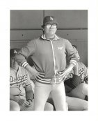 Fernando Valenzuela Original Press Photo / Wire Photo 8x10 LA Dodgers