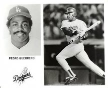 Pedro Guerrero LA Dodgers Original Press Photo / Wire Photo 8x10